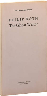 image of The Ghost Writer (Uncorrected Proof)