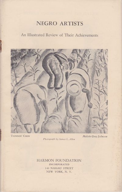Negro Artists: An Illustrated Review...