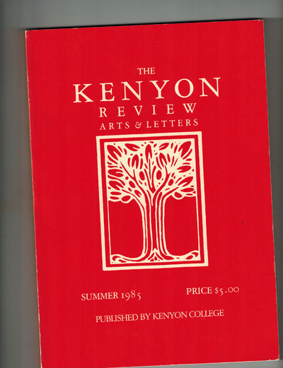 Gambier, OH: The Kenyon Review, 1985. 1st publication of James Lee Burke's short story,