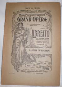 image of The Daughter of the Regiment Libretto