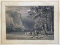 Print ) A Halt in the Yosemite Valley