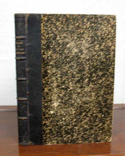 London: Longman Brown Green Longmans & Roberts, 1858. 1st edition (Cohn BIBLIOGRAPHICAL CATALOGUE, 9...