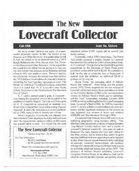 The New Lovecraft Collector: Issue 16