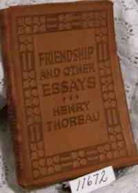 friendship and other essays emerson Friendship, and other essays / ralph waldo emerson 1900 [ebook pdf] by ralph waldo emerson and a great selection of similar used, new and collectible books.