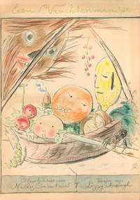 Bodenheim, Nelly (illustrator). VersesEen Vruchtenmandje. [A Fruit Basket] by Lizzy Ansingh - Hardcover - Signed - 1927 - from Rabelais - Fine Books on Food & Drink and Biblio.co.uk