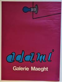 ADAMI Galerie Maeght (Lithograph Exhibition Poster)