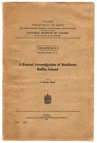 image of A Faunal Investigation of Southern Baffin Island