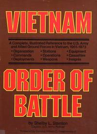 Vietnam Order of Battle: A Complete, Illustrated Reference to the U.S. Army and Allied Ground Forces in Vietnam, 1961-1973