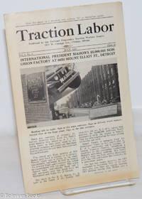 image of Traction labor, vol. 1, no. 5 July, 1937