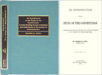 An Introduction to the Study of the Constitution. A Study Showing..
