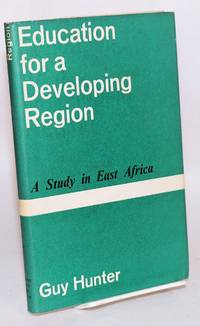 image of Education for a developing region; a study in East Africa