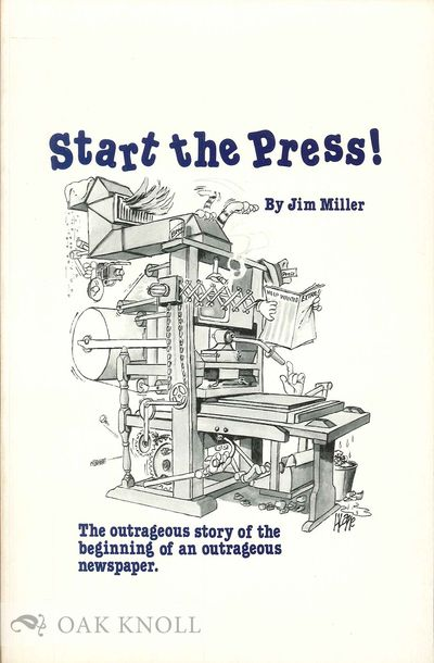 N.P.: n.p., 1978. cloth. 8vo. cloth. (vi), 202 pages. A history of the Delaware State News written o...