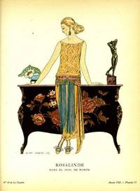 Rosalinde.  Robe du soir, de Worth.  Print from the Gazette du Bon Ton