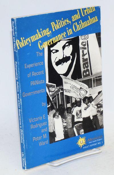 Austin: University of Texas, Lyndon B. Johnson School of Public Affairs, 1992. Paperback. xix, 130p....