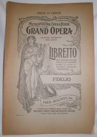 image of Fidelio, an Opera in Two Acts