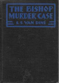 The Bishop Murder Case by S. S. Van Dine - Hardcover - 1st - 1929 - from Bujoldfan (SKU: 10061701vance4cgr)