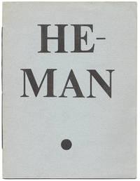 HE-MAN : AN INTERIM BOOK BROADSIDE : NUMBER ONE