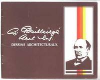 C. BAILLAIRGE, ARCT., ING.:  DESSINS ARCHITECTURAUX.  (CHARLES-PHILIPPE-FERDINAND BAILLAIRGE,...