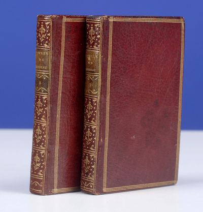 London: , 1781. In a Contemporary Morocco Binding Attributed To Derôme Le Jeune . ROUSSEAU, . Œuvr...