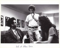 image of Barton Fink (Original photograph of John Turturro and the Coen brothers on the set of the 1991 film)