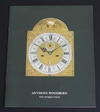 image of Anthony Woodburn: Fine Antique Clocks - forth brochure