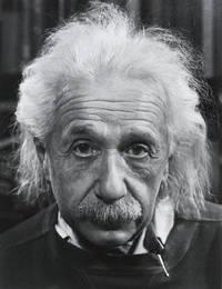 Albert Einstein: Silver Gelatin Print Photograph