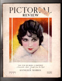image of Pictorial Review - September, 1927. Art Deco, Flapper, Vintage Romance Fiction. Charles Ransom Chickering; Arthur Dove; Joseph C. Lincoln; Clarence Kelland;  Bessie Beatty; Earl Christy; Cameron Rogers; Mateel Howe Farnham; Juliet Tompkins et alia; Vintage Paper Dolls. Very Early Kotex Ad