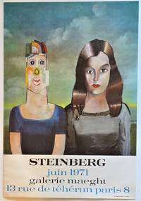 STEINBERG Juin 1971 Galerie Maeght (Lithograph Exhibition Poster)