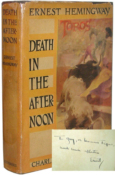 Abaa Death In The Afternoon By Hemingway Ernest Search
