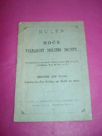 RULES OF ROCK PERMANENT BUILDING SOCIETY