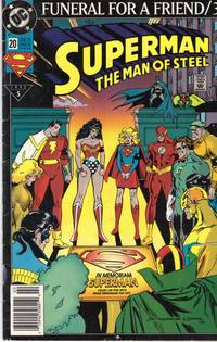 image of SUPERMAN : THE DEATH OF SUPERMAN # 2 of 1993: FUNERAL FOR A FRIEND/3  # 5 of 1993
