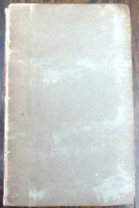 London: John Murray, 1818. Front cover detached. Edges untrimmed. Paper spine label chipped and fade...