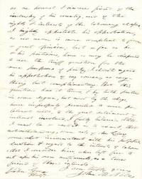 """An autograph letter signed """"John Niles"""" as United States Senator concerning Whig politics and th..."""