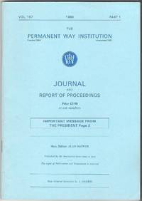 Journal and Report of Proceedings Vol.107, 1989, Part 1
