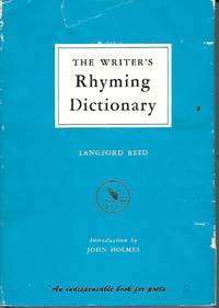image of The Writer's Rhyming Dictionary An Indispensable Book for Poets
