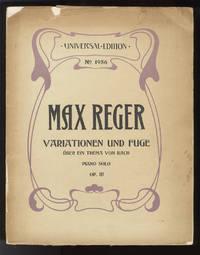 [Op. 81]. Variationen und Fuge über ein Thema von J.S. Bach [Solo piano]