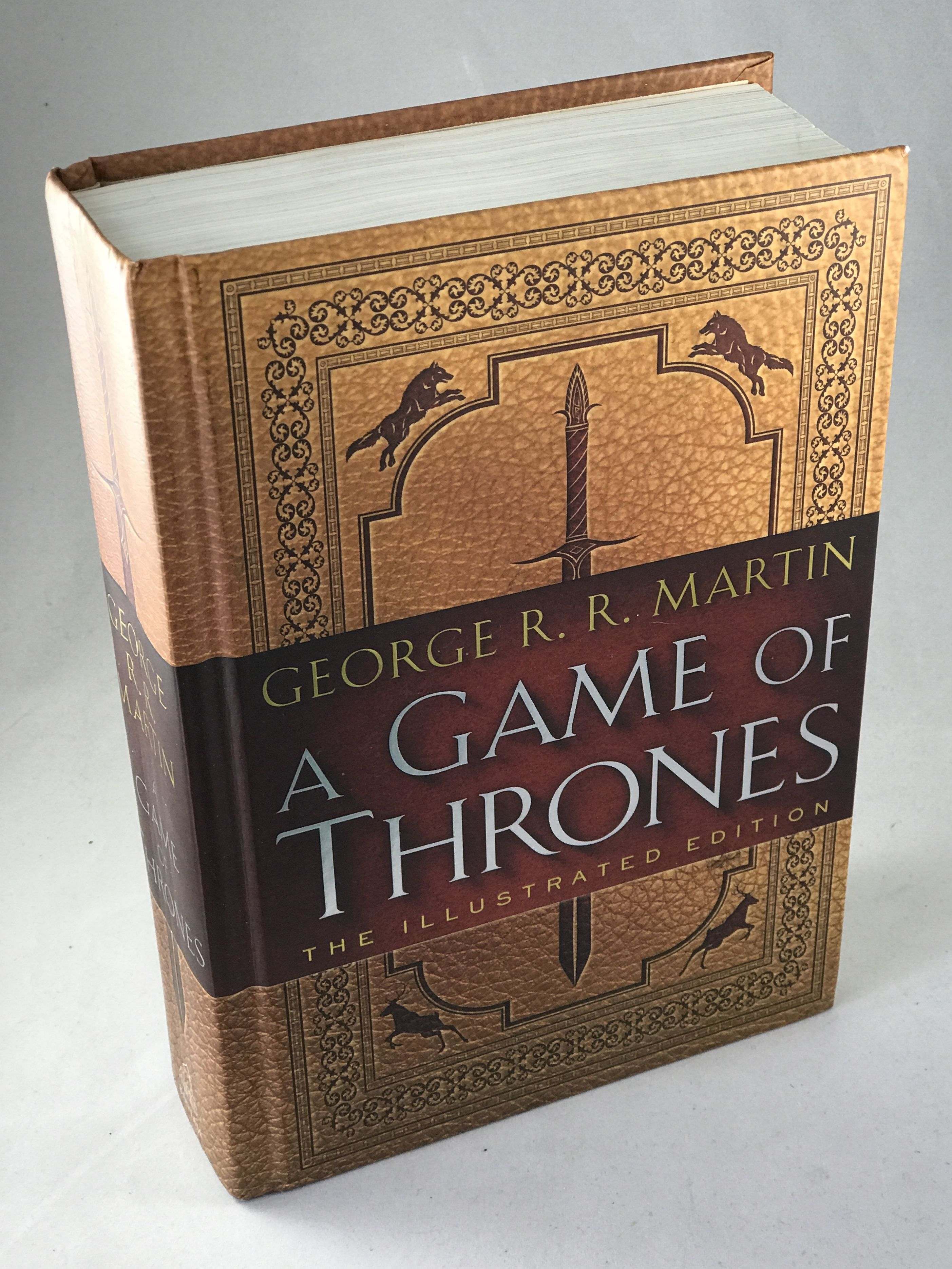 9780553808049 A Game Of Thrones The Illustrated Edition A Song Of Ice And Fire Book One By George R R Martin
