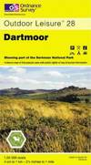 image of Dartmoor - Ordnance Survey Outdoor Leisure Maps 28