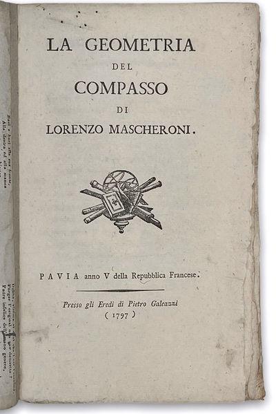 La geometria del compasso. Pavia:...