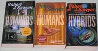 Neanderthal Parallax series:  volume (1)  Hominids; volume (2) Humans; volume (3) Hybrids;   -(the complete 3 book series \