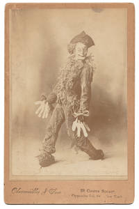 [Cabinet Card Photograph of Fred Stone as the Scarecrow in THE WIZARD OF OZ]