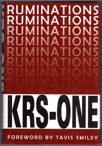 image of KRS-ONE: Ruminations