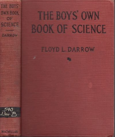 New York: Macmillan, 1938. Later printing. Hardcover. Fair. 12mo. x, , 331 pages. Illustrated. Red c...