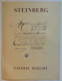 STEINBERG  Galerie Maeght (Lithograph Exhibition Poster)