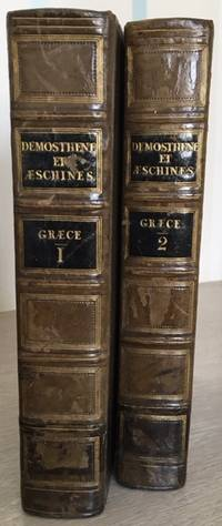 Demosthenes and Aeschines [2 volumes; Greek Text]
