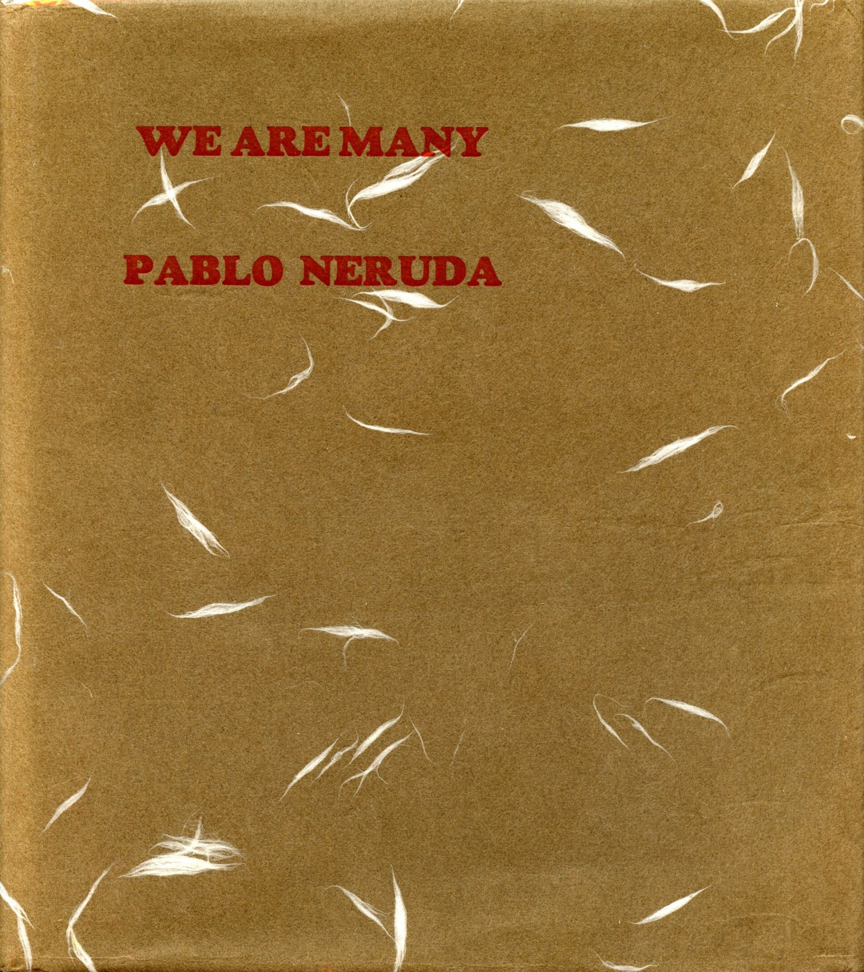 We Are Many By PABLO NERUDA