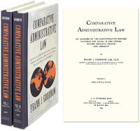 Comparative Administrative Law: An Analysis Administrative Systems..
