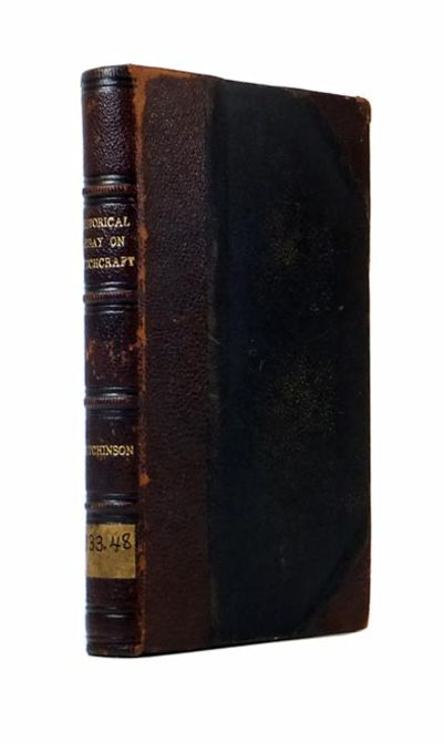 francis hutchinson an historical essay concerning witchcraft Buy online, view images and see past prices for francis hutchinson an historical essay concerning witchcraft with observations upon matters of fact 1720 antique.