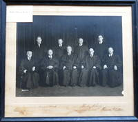 SCOTUS Signed Photograph of the Vinson Court