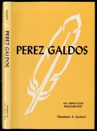 Perez Galdos: An Annotated Bibliography